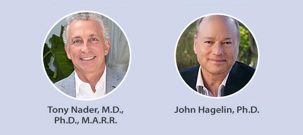 Tony Nader, M.D., Ph.D., M.A.R.R. and John Hagelin, Ph.D.