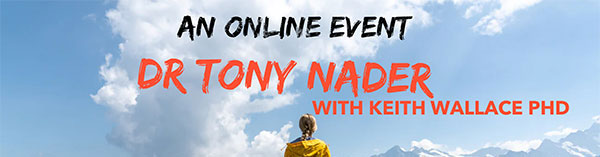 Online Event Dr. Nader with Keith Wallace